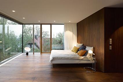 Панорамные окна - 5 примеров интерьеров